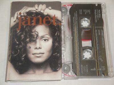 Janet Jackson - 'Janet' - Cassette Tape