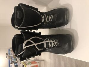 Used snowboarding boots