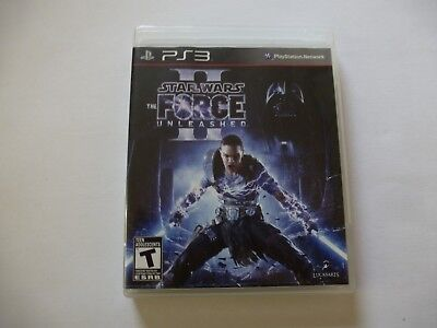 Sony Playstation 3 Star Wars The Force Unleashed II Video game