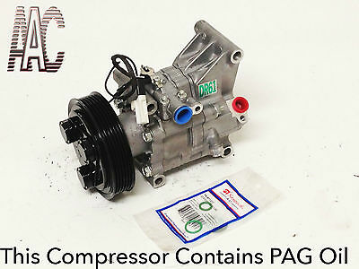 2011-2012 MAZDA 2 USA REMANUFACTURED A/C COMPRESSOR W/ ONE YEAR WARRANTY.