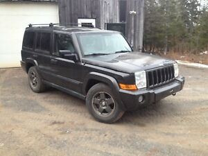 Parting out jeep commander