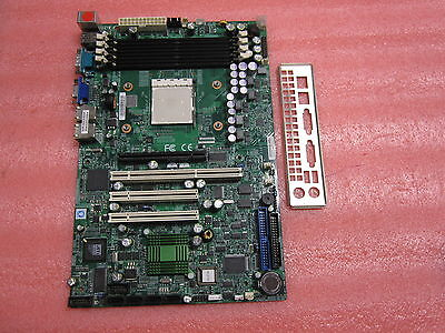 Supermicro H8SSL-i2 AMD Opteron 1000 Series (Socket AM2) Support 800 MH w/ IO