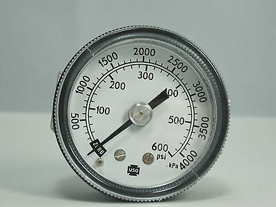 Pressure Gauge 164142 3 12 30 Psi 14 Lmc