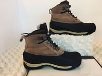 NIB COLEMAN INSULATED  THINSULATE KIDS LEATHER  BOOTS SZ 1