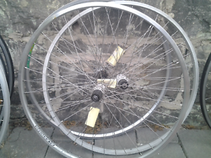 Refurbished bike bicycle wheels, 700 hybrid rear 135mm 7 speed Maribyrnong Maribyrnong Area Preview