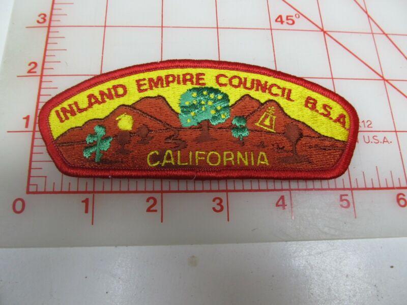 Inland Empire Council CSP collectible PB patch (o34)