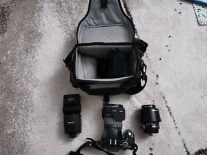 Pentax KX DSLR lenses