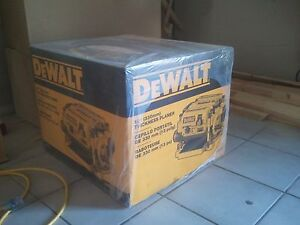 NEW DEWALT DW735 2 SPEED 3 KNIFE CUTTER HEAD ELECTRIC PLANER KIT 2 HP 15 AMP
