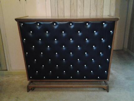 Eye catching retro mobile bar/cabinet with black studded front Salisbury Brisbane South West Preview