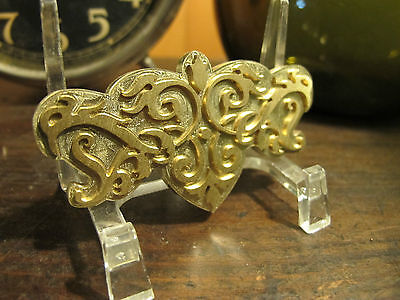 Brass Ornate Center Ornament Bookbinding Letterpress Tool Stamp Embossing Die
