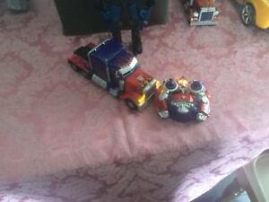 Remote controlled Optimus Prime