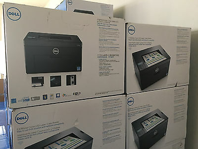 Brand New Dell C1760nw Color Laser Printer -- STP-CGFYN-V2