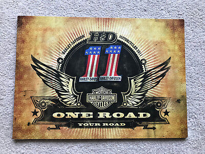 HARLEY DAVIDSON Motorcycle One Road Your Road 2011 Booklet Brochure Rare