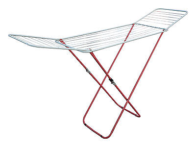 18M GULL-WING CLOTHES AIRER DRYING RACK INDOOR  LAUNDRY CLOTHING DRIER WASHING