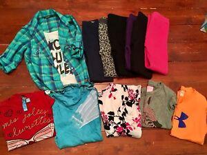 Lot vêtements fille 10-12 ans