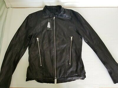 DIESEL BLACK GOLD LABRASIV LEATHER JACKET SIZE (48 Italy - 38 US)