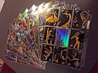 1995 BATMAN FOREVER METAL 100 CARD SET + Gold Blaster lot