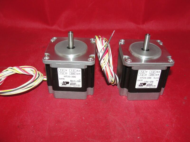 Applied Motion Products HT23-396 7.2V 1.0A 200 Step Motor LOT OF 2
