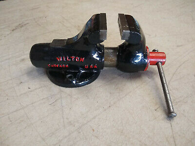 Vintage Wilton 820 2 Baby Bullet Machinist Bench Vise No Swivel Base