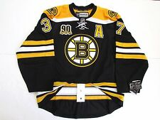 BERGERON BOSTON BRUINS AUTHENTIC HOME 90th ANNIVERSARY REEBOK EDGE 2.0 JERSEY