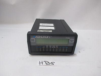 Ashcroft Pt Digital Indicator 100 Inh2o Range Hbs