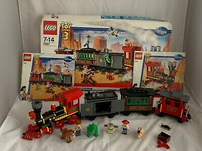Lego Toy Story 7597 Western Train Chase With Minifigures And Manual FREE UK P&P
