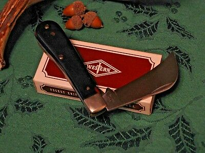 Vintage Western USA 854 C Knife Pruning Pocket Hawkbill Knife & Original Box NOS for sale  Mesa