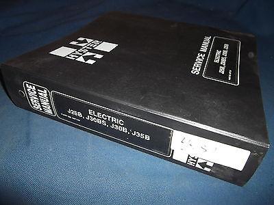 Hyster J25b J30bs J30b J35b Forklift Service Shop Repair Manual Book