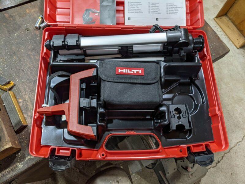 Hilti - Combilaser PMC 46 Kit with tripod, PMA 78 adaptor, carry case