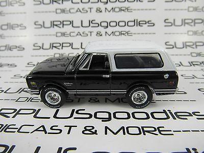 Johnny Lightning 1 64 Scale Loose Black Whitetop 1969 Chevrolet Chevy Blazer 4X4