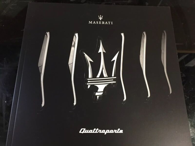 2019 MASERATI QUATTROPORTE RANGE DEALER SALES BROCHURE CATALOG USA 88 PGS NEW!