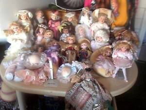 DOLLS PORCELAIN COLLECTABLES $25 - $100 Scarborough Stirling Area Preview
