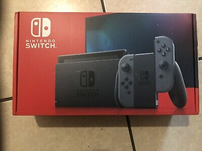 Nintendo Switch Console 32GB V2 Gray Joy-Con Brand New IN HAND Free Fast Ship