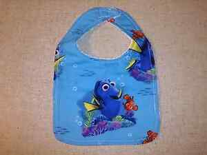 Handmade Dory & Nemo bib Maryland Newcastle Area Preview