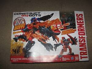 Transformers Age of Extinction Construct-Bots Dinofire Grimlock Margate Redcliffe Area Preview