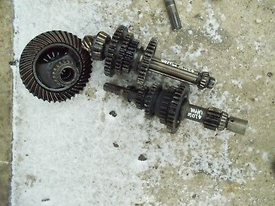 John Deere 420 W Tractor Jd Transmission Set Top Middle Pinion Drive Gears