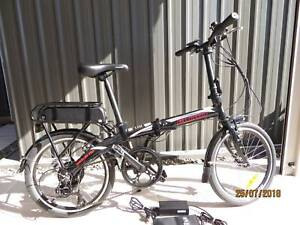 E-Bike Fluid Traveller Volt Folding Bike