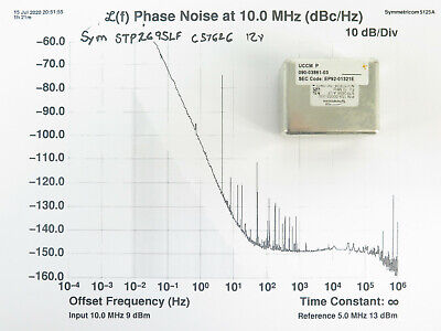 Symmetricom Stp2695alf 10 Mhz Ocxo 5-pin - Select Exceptional Phase Noise Specs