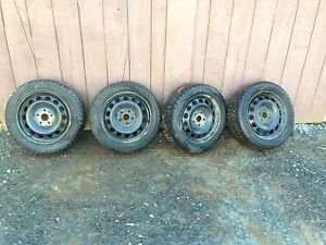 16 in Vw rims and tires