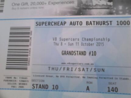 Bathurst 1000 Grandstand Seat Front Row Copper Coast Preview