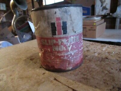 Vintage IH Slip Plate Grease Oil Can Empty Quart Only 1 On Ebay! Lot 20-88-10