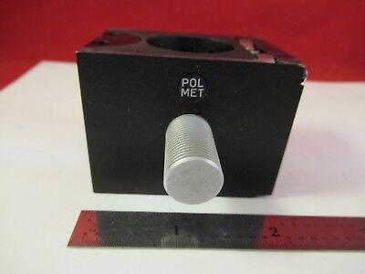 Reichert Polyvar Pol Met Cube Polarizer Filter Microscope Part Optics J9-b-07