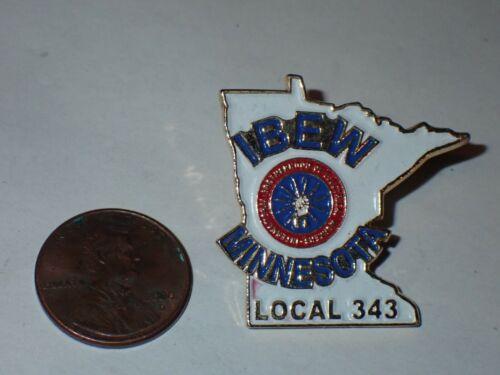 IBEW Collectible Lapel Pin Local 343 Minnesota
