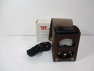 Triplett Ck-8455 L2 Line 0-100vdc Measuring Scale Megaohms-kilohms Loop Tester