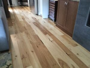 "5"" Natural Hickory Engineered Hardwood Flooring"