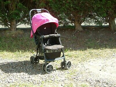 Joie Reversible, Fast Fold Pushchair, Sunshade, Shopping Space  Easy Roller