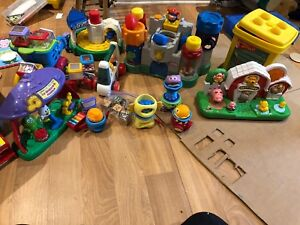 Lot de jouets Fisher price vetch et little tikes