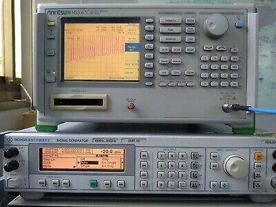 Anritsu Ms2667c Spectrum Analyzer 9 Khz To 30 Ghz Very Good Shape