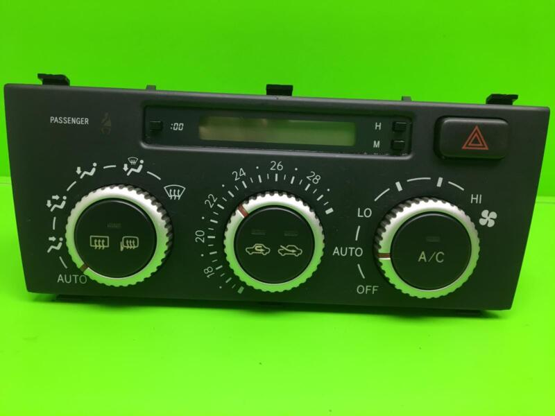 LEXUS IS200 Heater controls 99 00 01 02 03 04 05