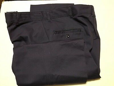 Aramark Mens New Navy Blue Work Pants Size 38X32   Mp 3